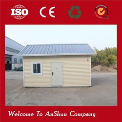 low cost durable movable export prefab house container