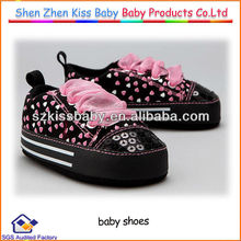 Lovely infant baby shoes and bebe shoe import shoes