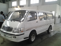15 Seats 72kw Gasoline Minibus