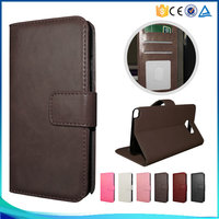 Simple style pu leather flip case for Sony Z4 Mini ,for Sony Z4 Mini high-end book style phone case