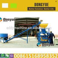 Multifuncation QT4-24 manual block moulding machinery for Sierra Leone
