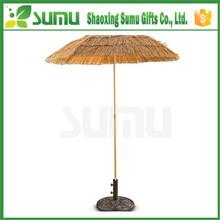 good peputation factory price raffia beach umbrella