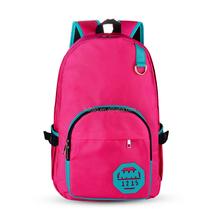 New Trendy Girls School Bag 1680D Nylon Backpack