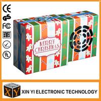 Foldable Cube Shape Customize Paper Mini Speaker