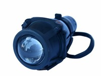 Dirt Bike Motorcycle Universal Vision Headlight Street Racing Motorcycle Lens Headlamp Fish-Eye Light Supported Adding Turn Lamp