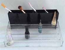 4 Tiers sobre encimera de acrílico Nail Polish Holder sostenedor de acrílico uñas esmalte de uñas esmalte