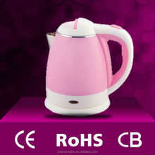CE CB Rohs Certificate colored Stainless Steel Electric Kettle