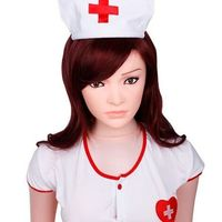 158cm inflatable doll male sex toys japanese nurse girl