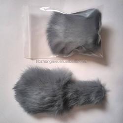 Real Rabbit Fur Pet Toys Cat Toys Dog Toys Cat Plush Toy