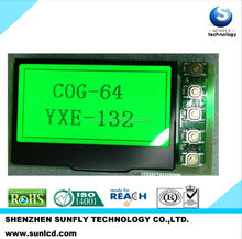 STN COG graphic display 132x64 lcd