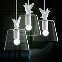 Hot product Vintage country style resin duck pendant light/lamp/lighting china supplier