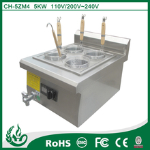 Chuhe hot sell countertop pasta pot for hotel use