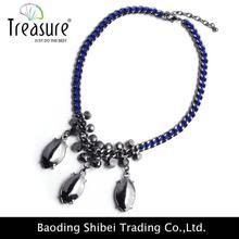 2015 fashion high-end pearl necklace jewelry description