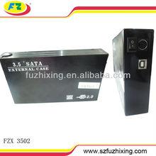 USB 2.0 3.5 lan hdd box SATA HDD Enclosure 2TB