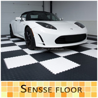 Interlocking Garage Flooring/ PVC Plastic Floor Tiles