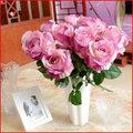 Excelente qualidade hot sale rosas artificiais atacado