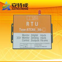 Industrial ATC-RTU-60A14 m2m gsm gprs rtu mobile sms alarm sensor
