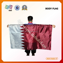 Cheap polyester body flag for promotional event wholesale