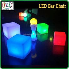 party illuminated furniture 50cm rgb box led round table sale led round table sale
