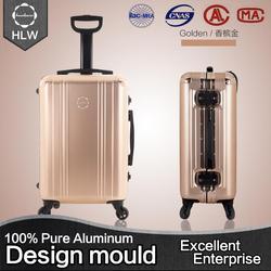 "HLW china supplier custom louis kaiser 28 "" luggage"