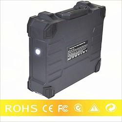 Portable battery backup grid-off solar panel light kit