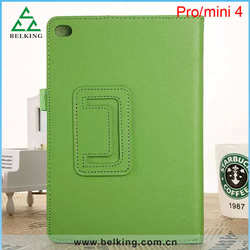 Folio leather case for Apple iPads / For iPad mini 4 Stand leather case for iPad Pro