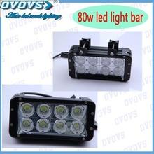 Highest quality 80w IP67 water proof led light bar for trucks