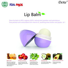 DEXE 2015 beeswax lipstick lip balm ball and organic roller ball lip balm make your own lip gloss