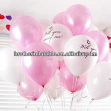 Wedding favour printable balloons inkjet