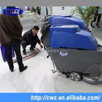 Ametek motor industrial automatic electric floor scrubber cleaning equipment