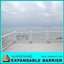 Plegable de aluminio de aleación de aparcamiento Modern diseño para balcón barandilla