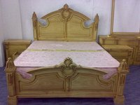 Wooden Double-bed Set