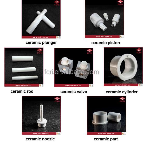Zirconia / ZrO2 / TZP ceramic plunger