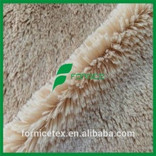 China manufacturer soft long pile artificial fur for shoes