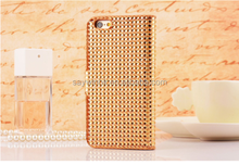 Silicone and Plastic Diamond Mobile Phone Case for iPhone 5/5s