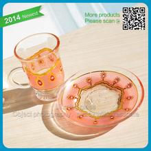 Tea set glass grace tea ware
