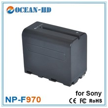 Replacement 7.2v 6600mah high capacity camera batteries NP-F970 for Sony DSR-PD170 FDR-AX1