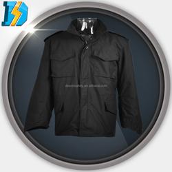 m65 field jacket alpha industries with 2 slide pockets and 1 side pocket on left leg