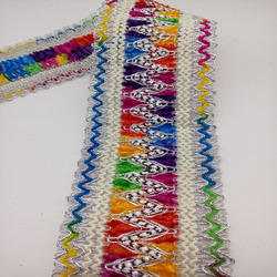 lantern yarn colorful chenille polyester silver covered wire weaving lace craft