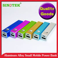 SINOTEK old classic gift power bank model , cheap price on push , fast delivery time , OEM logo color packing
