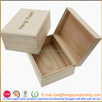 2015 factory price packing wooden box/wine box wooden box the latest packaging/ wooden storage box with engrave logo CHW001