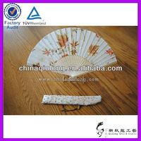 Chinese Wedding Invitations Bamboo Fan Decoration Craft Hand Fan