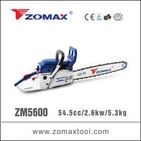 power tool CDI ignition system 54.5cc ZM5600 petrol saw tree for firewood cutting
