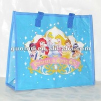 2013 high fashion cheap PP non woven zipper shopping bag