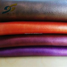 2015 new products of waterborn pu leather for shoes, garment, seat cover