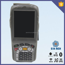 Laser barcode scanner PDA with 3G, bluetooth, camera, DGPS, WIFI,RFID reader