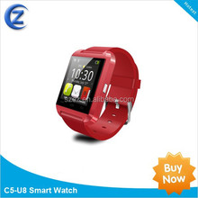 """New 1.48"""" TFT LCD Touch Screen Bluetooth U8 smart watch for Smartphones IOS Android Apple Stopwatch function hand free call"""