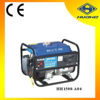 4 stroke recoil/electric start portable gasoline generator 1kw,1kw protable gasoline generator factory price