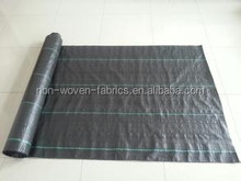 China 100% virgin polypropylene woven ground cover / silt fence /weed barrier