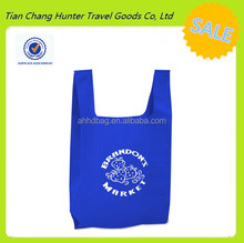 Alibaba China wholesale reusable friendly recycle cheap promotional shopping eco bag for supermarket